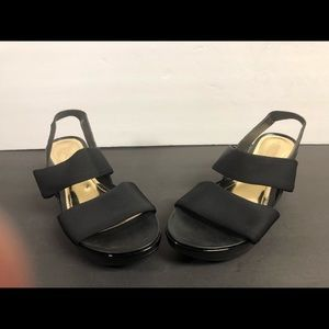 Kenneth Cole Reaction Womens Open Toe Wedges